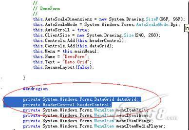 美化Windows Mobile上的自定义数据表_软件学