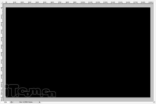 photoshop制作一种电光艺术字效果