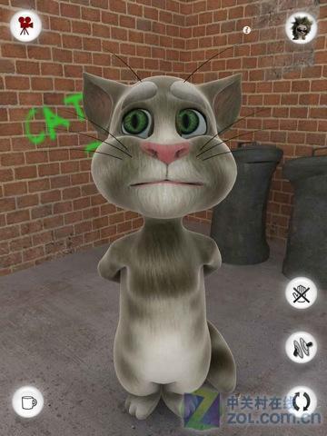 会说话的汤姆猫 擅长模仿的可爱小精灵_软件学