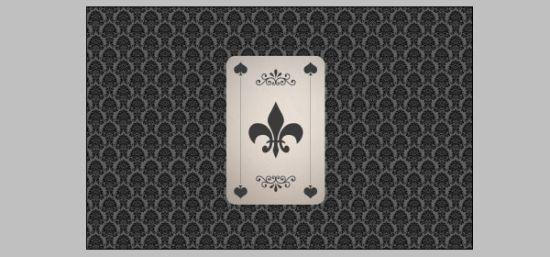 按钮ctrl键单击扑克和所有花纹的图层把它们都选中,然后按下ctrl t,单