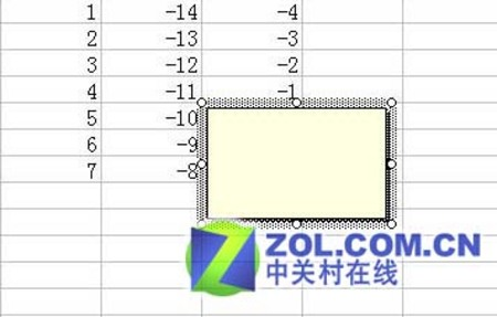 用Excel改变单元格批注的形状添加图片