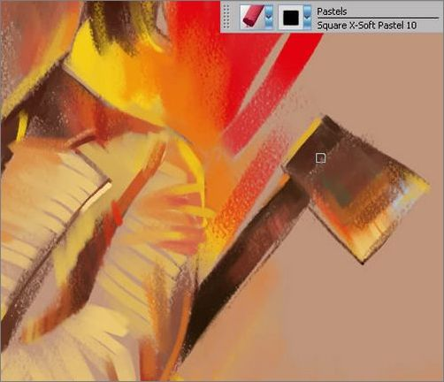 Painter手绘风格漫画:《功夫》海报教程(3)