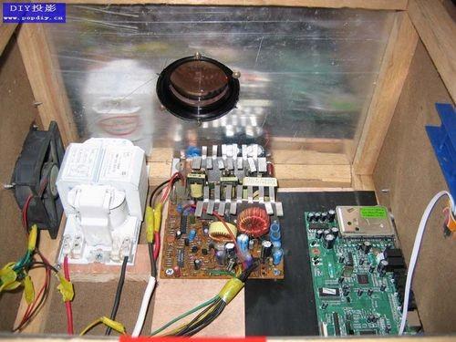 diy投影机机箱内部