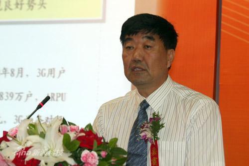 中国联通副总裁朱立军