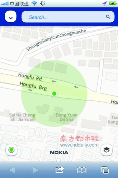 诺基亚地图不支持中文:导航全程英文发音