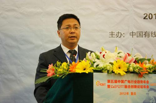 重庆有线市场部主任喻欣