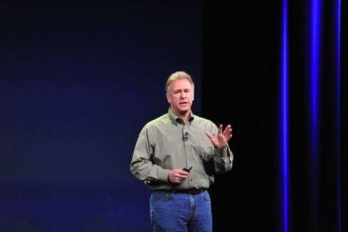 苹果全球市场营销高级副总裁菲利普・希勒(新浪科技配图)