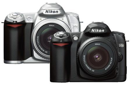 真正平民单反尼康D50相机直降400元