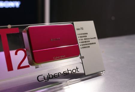 索尼推出多彩卡片相机T2专为新生代设计