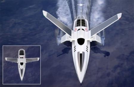 揭密最环保概念船:似星球大战X战机