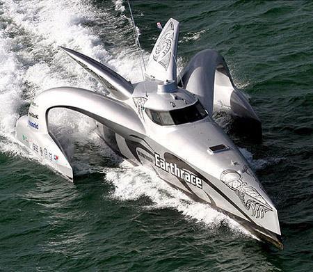 摩托艇用人脂肪作燃料欲破环球航行纪录(图)