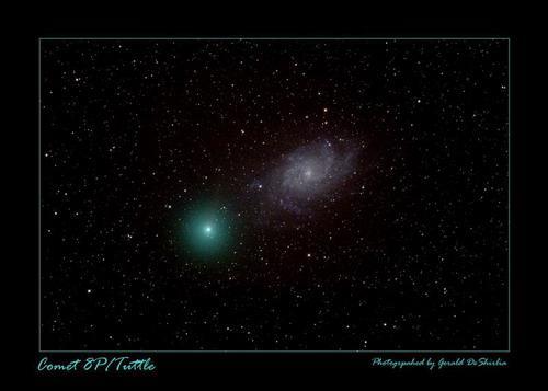 图文:07年12月30日德克萨斯州出现的塔特尔彗星
