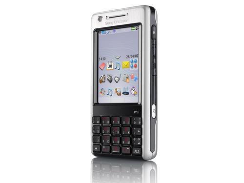 高端智能手机索尼爱立信P1黑色版现身