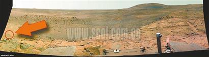 勇气号火星拍到类似女人照片(组图)