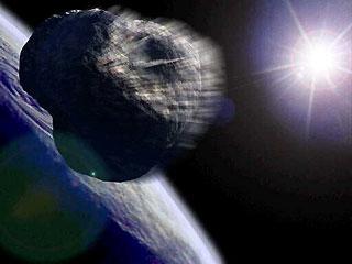 一颗小行星今与地球亲密擦肩(组图)