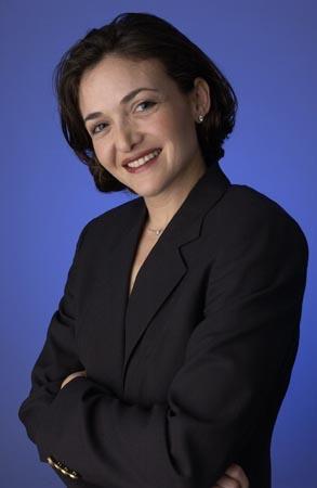 原谷歌全球在线销售和运营副总裁――沙里尔・桑伯格(Sheryl