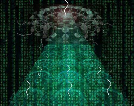 ZZ: 纳米级微型电脑问世 工作原理类似人脑(图) - 江波 - 洪荒世界_江波的科幻天地