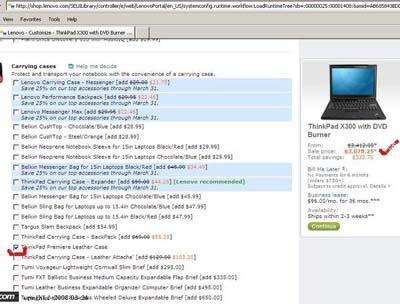 官网订购价不同ThinkPadX300美国比中国贵