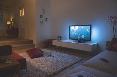 飞利浦液晶电视营造身临其境的私家影院