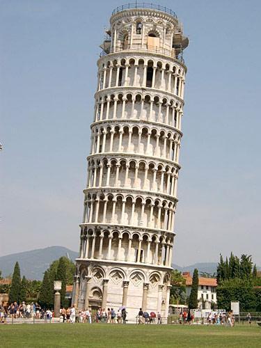 工程师称比萨斜塔已经稳定可再挺300年(图)
