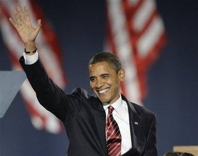 虚拟世界庆祝奥巴马当选美国总统