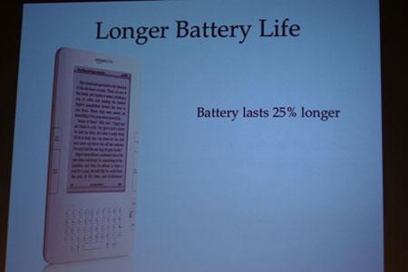 亚马逊新款Kindle电子阅读器亮相(组图)