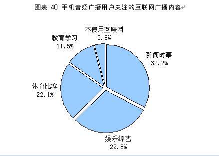 中国手机媒体报告:手机音频广播业务研究
