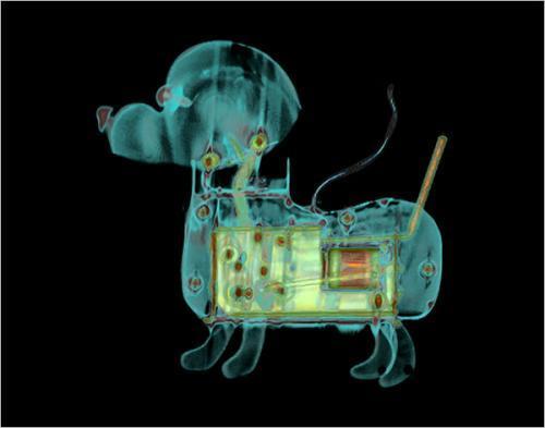 CT扫描透视流行商品:从iPhone到麦当劳(图)