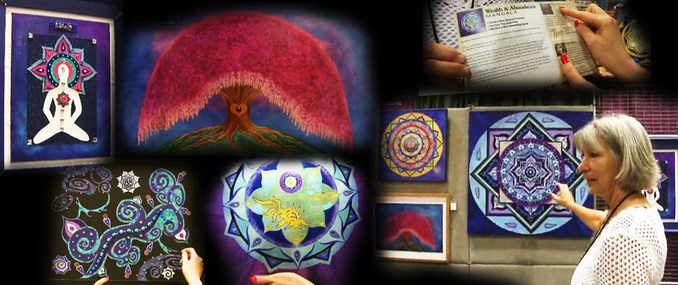 UAC占星师用品展销会花絮:冥想中的脉轮之歌