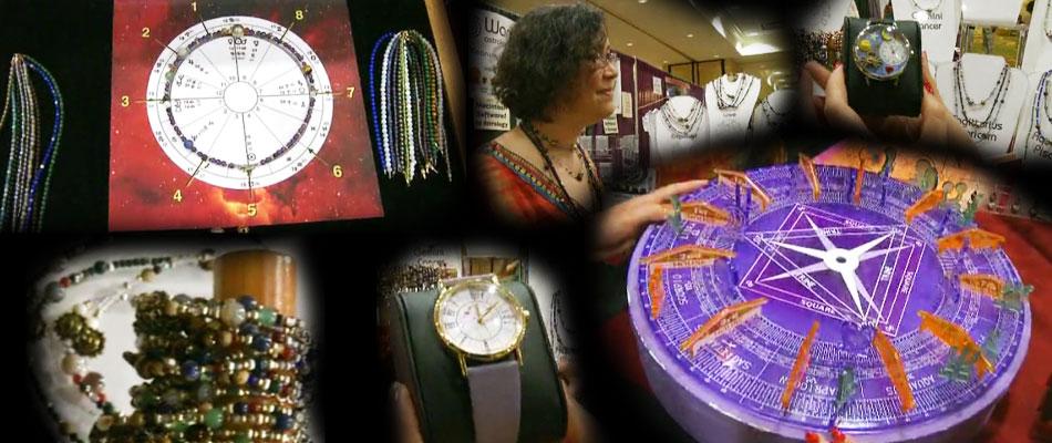 UAC占星师用品展销会花絮:难得一见的创意星盘