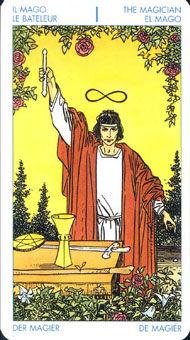 伟特塔罗魔术师(图片来源与轻博客)