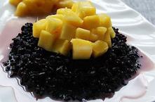 椰汁芒果紫米饭(组图)