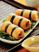 金菇豆包卷(图)