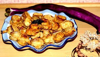 香煎土豆泥茄盒(图)