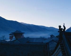 五台山晨雾