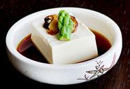 和风凉拌松茸豆腐