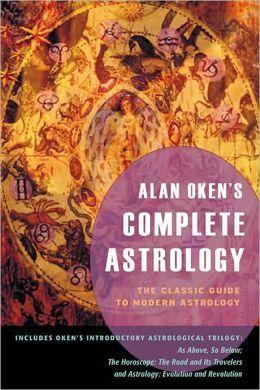 阿兰-欧肯的著作《占星全书》封面