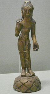 8世纪 北印度 阿弥陀佛立像