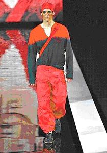 时尚:十二星座另类男装秀(组图)