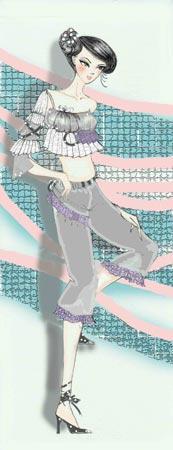 时尚:六大星座舞会皇后靓衫大比拼(组图)
