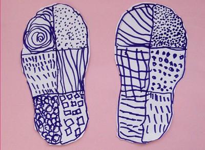 作品: 《宝宝的鞋垫》