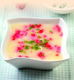 奶味蛋花汤