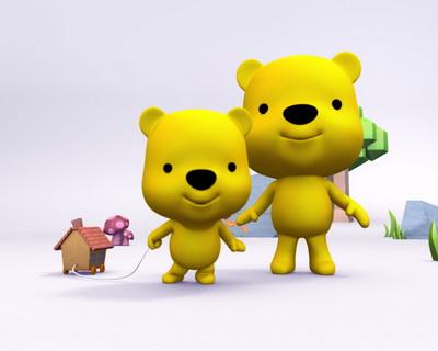 讲亲子故事 我是小熊设计师(图)