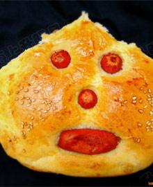 万圣节之鬼脸面包