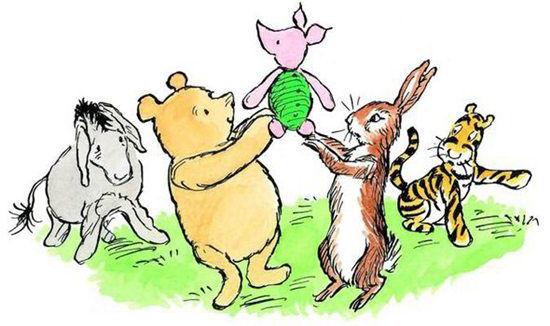 《小熊维尼》成为英国人评选的最佳儿童书籍。