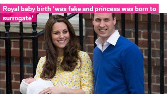 俄媒懷疑凱特生娃是假 英國人hold不住了(圖)