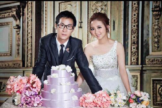 小宇和小菲的婚炤。 由小宇本人提供