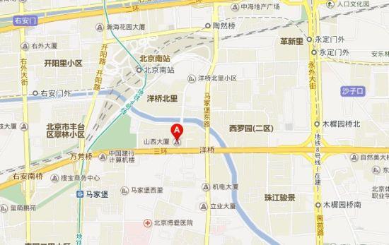 山西大厦地图位置