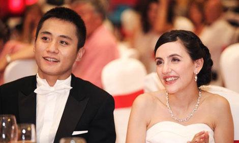 刘烨和妻子安娜依斯