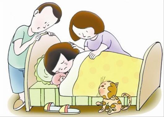 爸爸比我大 为什么就让我单独睡?